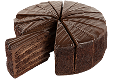 Five High Chocolate Cake