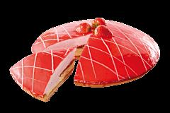 Aardbeien kwarkvlaai