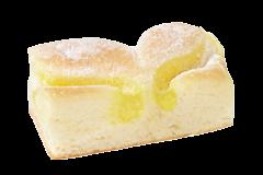 Vegan gebakje citroen
