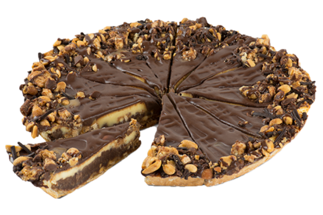 The Big Blitz Snickers Cake