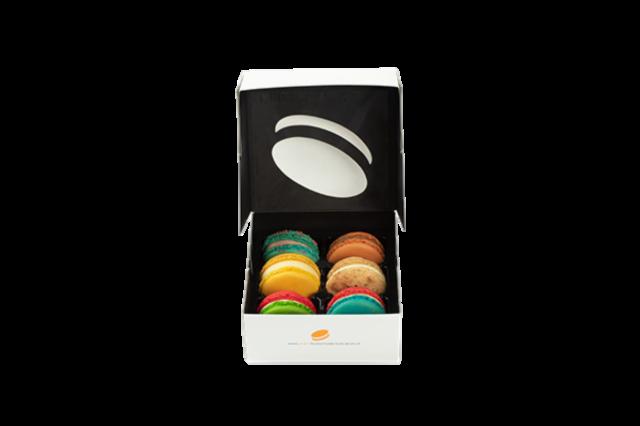 Macarons 6 stuks