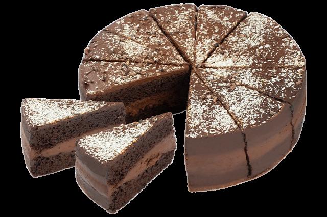 Vegan Death by chocolate taart