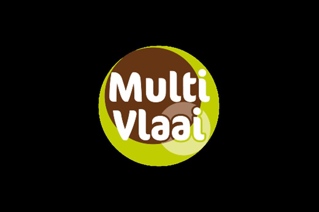 Aardbeienbavaroisvlaai met print/logo